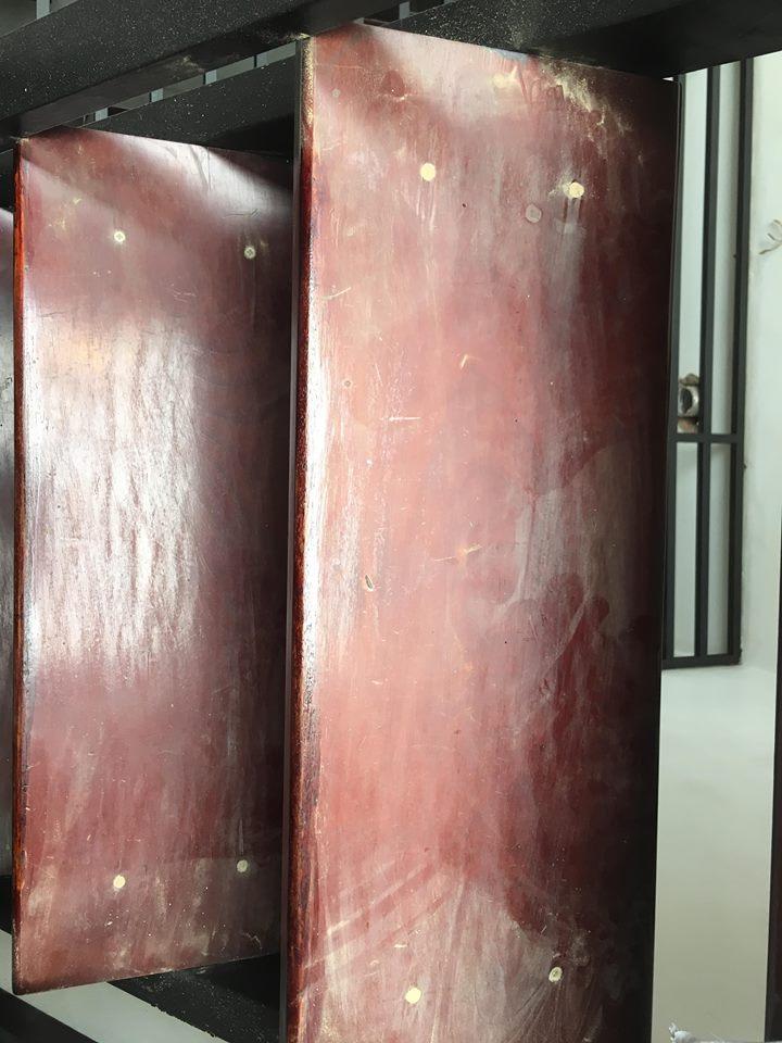 Sơn đồ gỗ cũ tại nhà tphcm