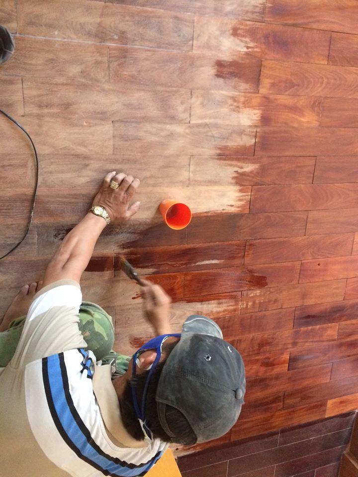 sơn sàn gỗ hcm