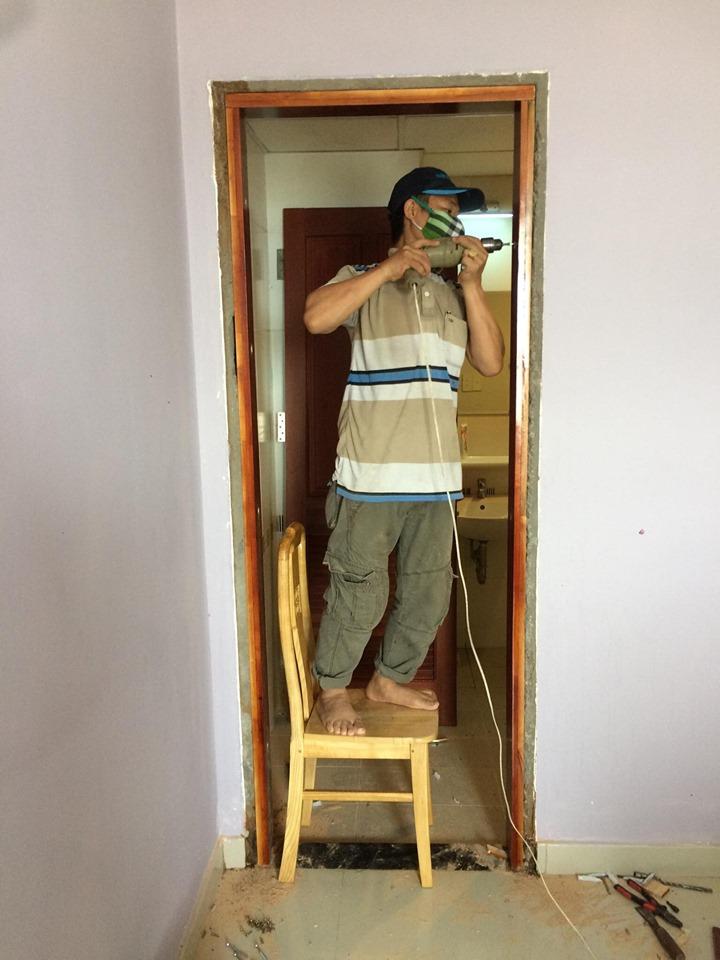 sửa cửa gỗ hcm